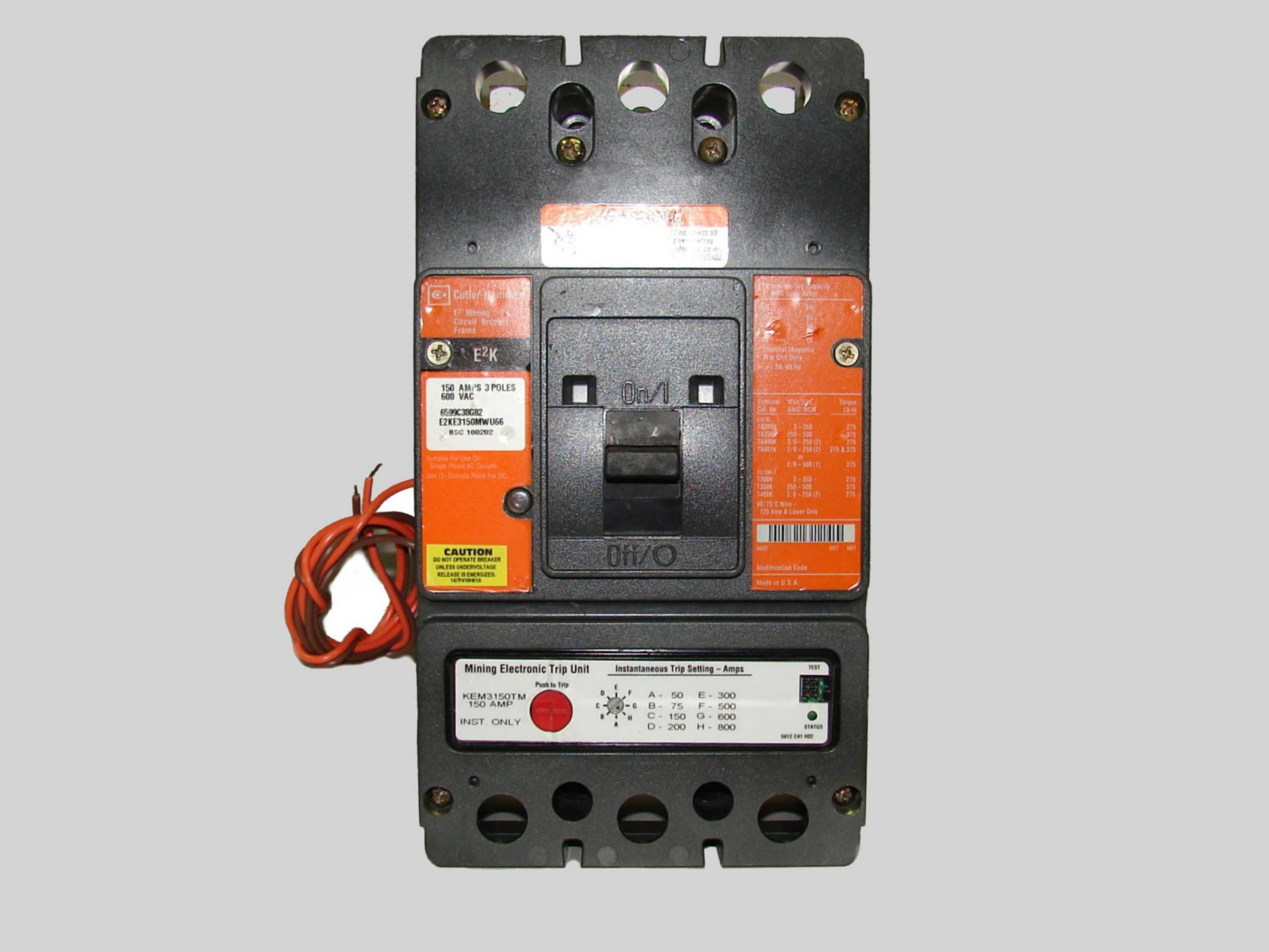 Mining Circuit Breaker Repair Program Call For Details